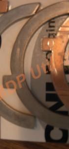 Cuzineti capat palier motor Iveco Aifo