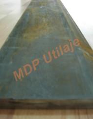 Cutit lama buldoexcavator 2400x200x20 Hardox 450